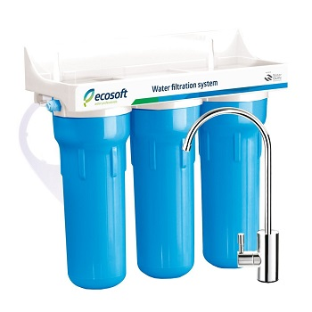 Ecosoft 3 Stage Under Sink Water Filter