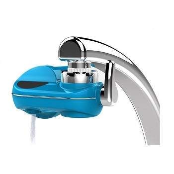GordVE GV05 Chrome Advanced Faucet Water Filter