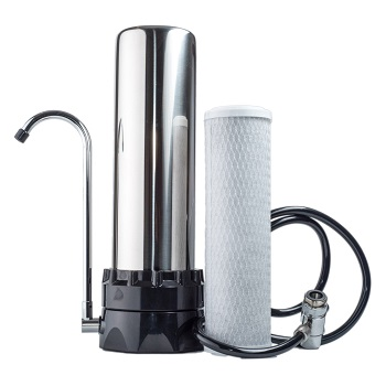 Lake Industries Stainless Steel Countertop Water Purifier