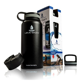 Liquid Savvy Insulated Water Bottle