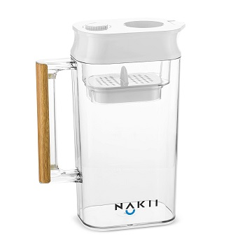 nakii longlasting water filter pitcher