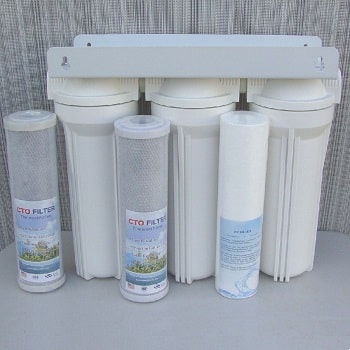 Pure Water Club Whole House 3 stage filtration system