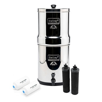 Royal Berkey 3.25 Gal. Stainless Steel Water Filter