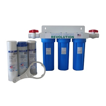 Reverse Osmosis Revolution 3-Stage Water Filtration System