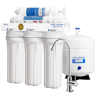 Apec Water RO-90 Reverse Osmosis Filter System