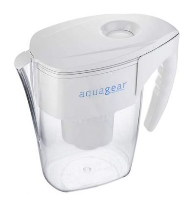 aquagear water filter pitcher review 6 filter bpa free. Black Bedroom Furniture Sets. Home Design Ideas