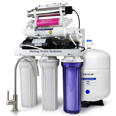 iSpring RCC1UP-AK Reverse Osmosis Drinking Water Filtration System